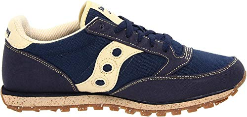 Saucony mens Jazz Low Pro Vegan Sneaker, Navy, 8 M US