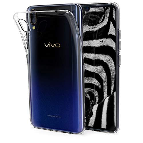 kwmobile Hülle kompatibel mit Vivo V11 Pro - Hülle Handy - Handyhülle in Transparent