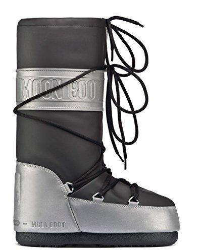 Moon Boot Reflex Bottes d'hiver pour femme, Noir