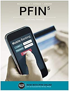 PFIN (with PFIN Online, 1 term (6 months) Printed Access Card) (New, Engaging Titles from 4LTR Press)