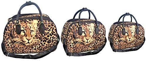 Reistas luipaard; verkrijgbaar in 3 maten of set van 3.