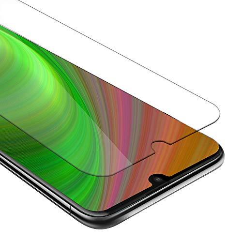 Cadorabo Panzerglasfolie für Motorola Moto E6 Plus - Schutzfolie in KRISTALL KLAR - Gehärtet (Tempered) Bildschirmschutz Glas in 9H Festigkeit mit 3D Touch Kompatibilität
