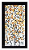 Mandarins III by Sally Bennett Baxley - 14' x 24' Black Framed Canvas Art Print - Ready to Hang