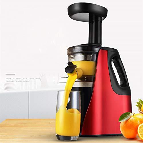 Multifunktionale Entsafter-Maschinen, Entsafter-Extraktor mit leiser Motorumkehrfunktion, leicht zu reinigen, BPA-frei, Kaltpress-Entsafter, Saftrezepte für Gemüse und Obst