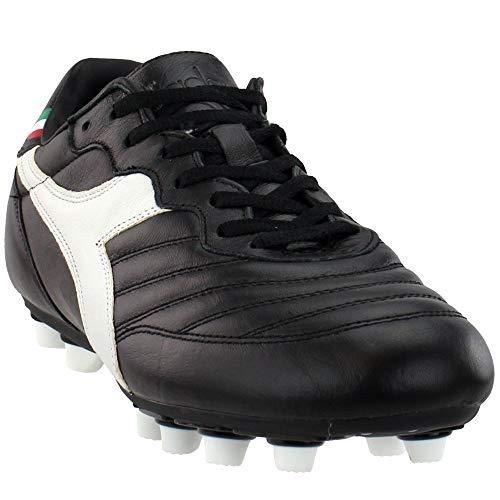 Diadora Mens Brazil K Mdpu Soccer Cleats - Black - Size 11.5 D