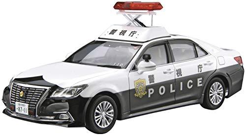 青島文化教材社 1/24 ザ・モデルカーシリーズ No.129 トヨタ GRS210 クラウンパトロールカー 警ら用 2016 プラモデル