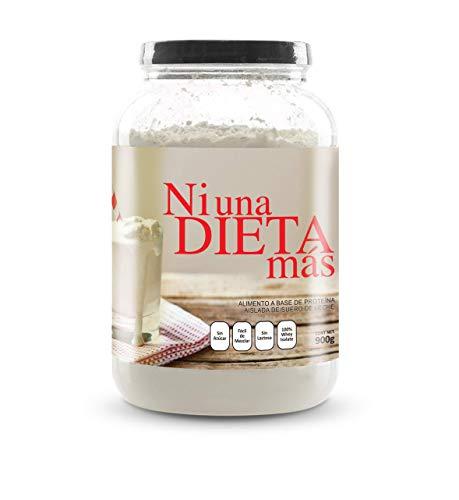 NI UNA DIETA MÁS - proteína whey isolate (deliciosa vainilla) 0 azúcar, 0 Lactosa, fácil de mezclar