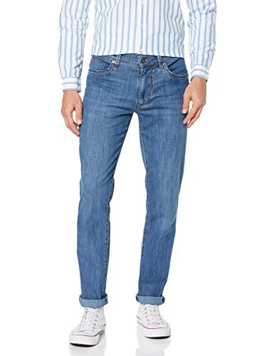 BRAX Herren Style Cadiz Ultralight Blue Planet: Nachhaltige Five-Pocket Jeans, Blau (Mid Blue Used), 38W / 32L