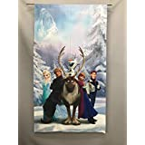 のれん アナと雪の女王 巾85㎝x丈150㎝
