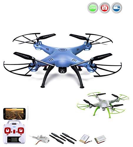 X5SC-1Explorers 2Pro HD Quadricottero Radiocomandato ,4.5canali drone, 2.4GHz, Headless, HD fotocamera ,2X kit di crash, Batteria