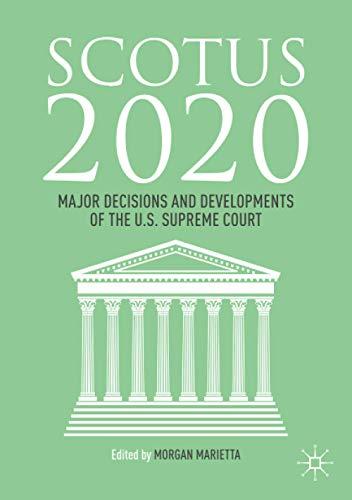 SCOTUS 2020: Major Decisions and Developments of the U.S. Supreme Courtの詳細を見る