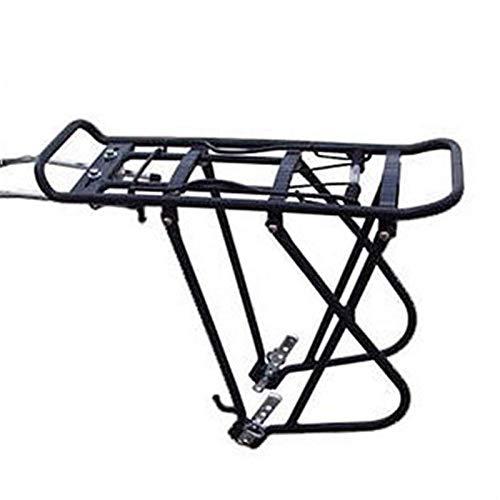 DKBE Portaequipajes Trasero de Bicicleta, alforja de Poste de Asiento de liberación rápida 28-24 Pulgadas 50 kg de Capacidad para Bolsa de Bicicleta para Viajes Largos en Bicicleta