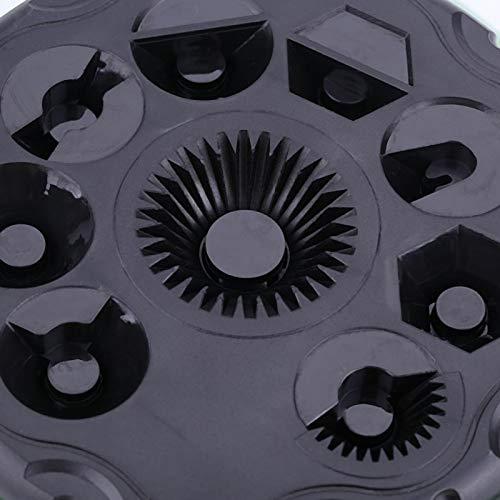 Mothinessto Rociador de plástico de 9 Funciones, rociador de riego Multiusos para Techo frío