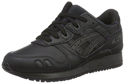 Asics Hl6a2, Unisex-Erwachsene Sneaker, Schwarz, 36 EU (3 UK)