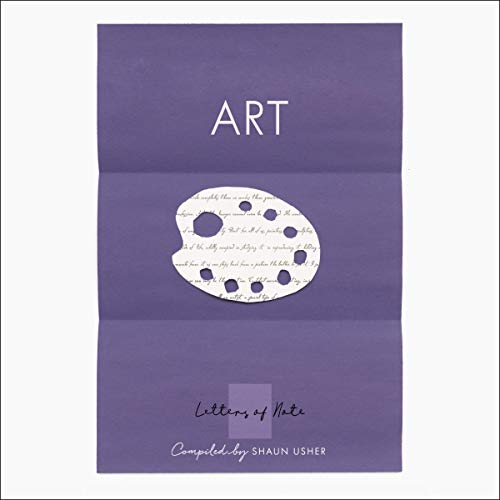 Letters of Note: Art audiobook cover art