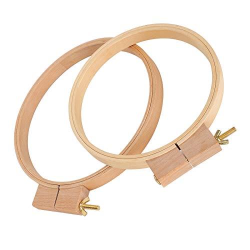 Práctico Marco de anillo de bordado firme fino Conveniencia Bordado duradero Herramientas de costura Puntada Pintura de seda Puntada de costura Punta de aguja