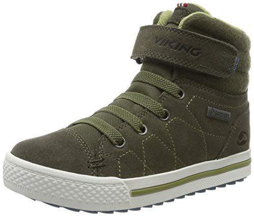 viking Unisex-Kinder Eagle IV GTX Hohe Sneaker, Grün (Olive 37), 40 EU