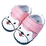 Zapatillas de senderismo para bebés y niñas, unisex, talla 18 UE, color: rosa