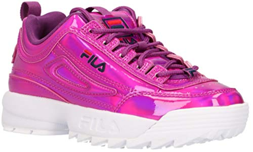 Fila Disruptor F Kids, Zapatillas, Violeta (Sparkling Grape), 37 EU