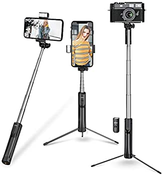 Mpow Selfie Stick Tripod with 3 Level Fill Light and Wireless Remote