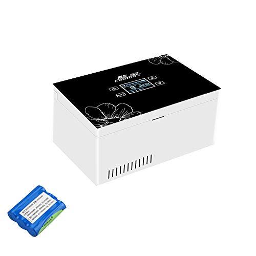 Refrigerador PortáTil De Insulina Mini Refrigerador Enfriador EléCtrico Nevera Coche Refrigerador De Medicamentos para El Hogar Oficina Viajes 2-18 ° C Negro