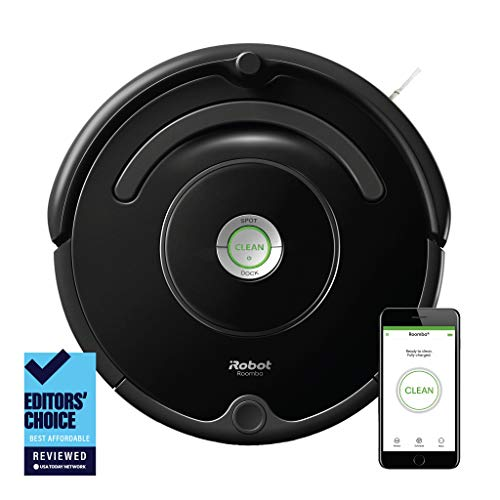 Our #4 Pick is the iRobot Roomba 675 Robot Vacuum-Wi-Fi Connectivity