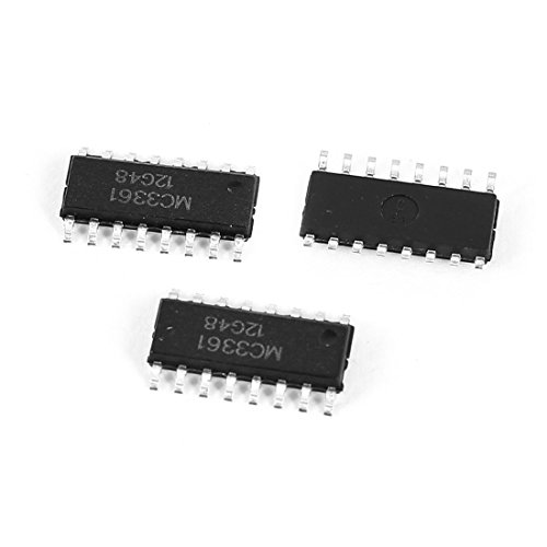 Aexit MC3361 16Pin PCB SMD SMD-Typ für SMD-Bauart mit geringer Leistung Schmalband-FM-ZF, IC-Chip, 3Pcs (1d62f25f95f5c6f42509a66b789ae9e3)
