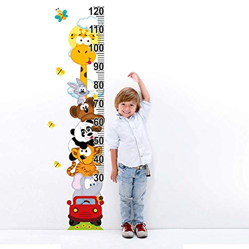 kina UVB00060 Decorazione Parete in PVC Trasparente Adesivi per Muro Metri Bambini - Misura 20x120