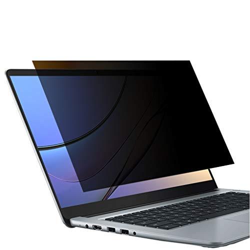 YANGXIAOJUAN Computer Anti-peeping Protection Film, Laptop Film Anti-peeping Privacy Protection Office Outdoor Screen HD Eye Protection Anti-glare Anti-scratch Scratch (Size : 15.6 inches)