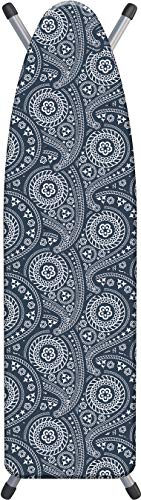Laundry Solutions by Westex All-In-One Paisley Triple Layer Deluxe Extra Thick Ironing Board Cover & Pad, 15' x 54'