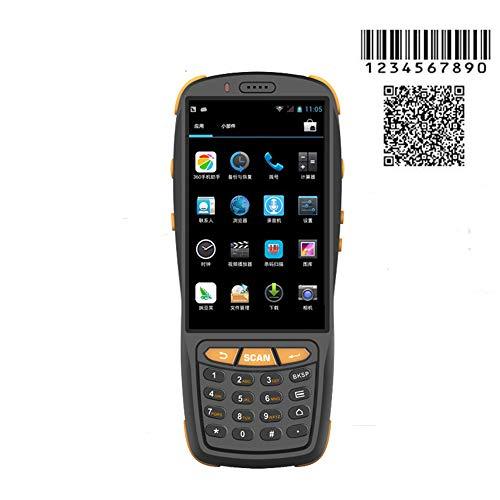 Wenhu PDA Barcode Scanner 1D 2D Bluetooth Android Terminal Portable Robuste PDA sans Fil Mobile 1D Scanner de Code à Barres Data Collector,2DCMOS