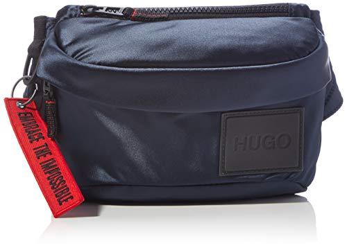 HUGO Kombinat ST_Bumbag, Cinturón para Hombre, Navy410, Einheitsgröße