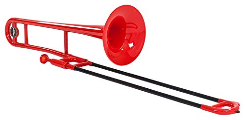 Tromba TBPR - Trombón de varas, color rojo