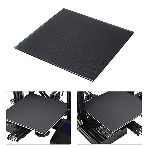 Aibecy - Plataforma de vidrio para impresora 3D, superficie de cristal, 220 x 220 mm, para Anet A8 A6 WanHao i3
