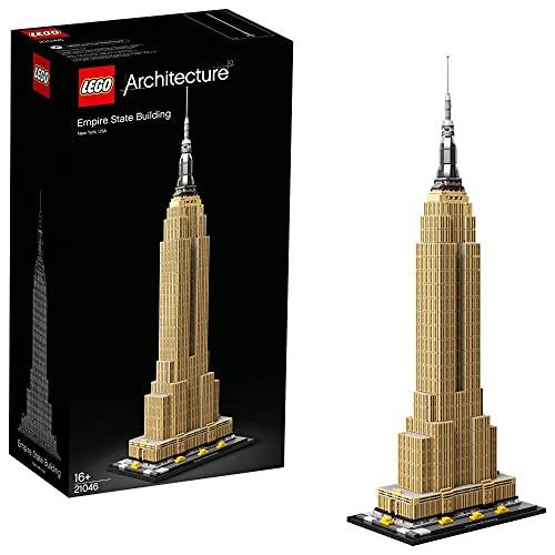 LEGO 21046 Architecture Empire State Building, Wahrzeichen von New York, Bauset für Jugendliche und Erwachsene
