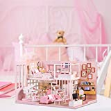 Rich-home DIY Puppenhaus Mini Wohnzimmer 3D Holz Mit LED Licht Musik Kunsthandwerk Geschenk...