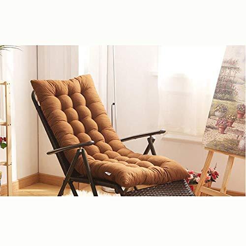 VIVOCFan Lounge stoel kussen, dikker klapstoel kussen voor rotan stoel schommelstoelen kussen katoen kussen zonder stoel