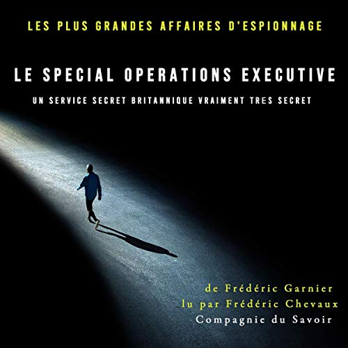 Le Special Operations Executive, un service secret britannique vraiment très secret cover art
