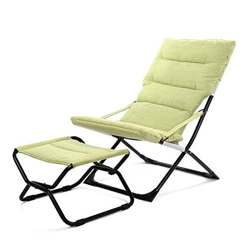 Chaise longue pliante Pause déjeuner Chaise paresseuse Maison Loisirs Chaise Balcon Siesta Chaise Portable Chaise pliante