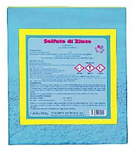 VIALCA Solfato di Zinco 35% kg.1 Fertilizzante Consentito in Agricoltura Biologica