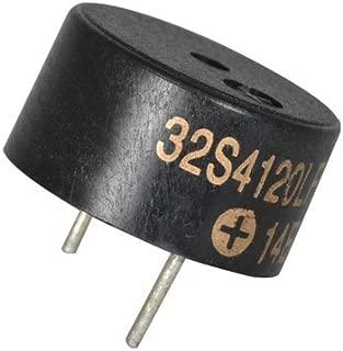 Audio Buzzer Piezo 12VDC 7mA Solder 3VDC 3500Hz to 4500Hz Through Hole