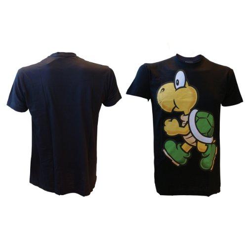 T-Shirt 'Super Mario Bros' - Koopa - Noir - XL