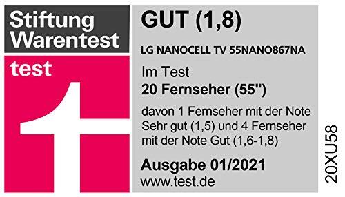 LG 55NANO867NA 139 cm (55 Zoll) NanoCell Fernseher 100 Hz [Modelljahr 2020] - 29