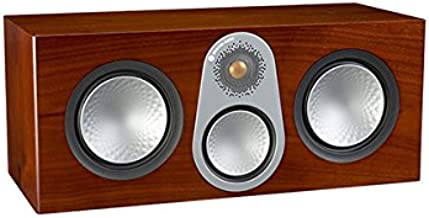 Monitor Audio Silver C350 Center Channel Speaker (Walnut Veneer)