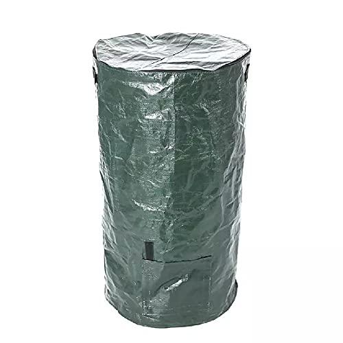 YANLAN 15 Gallone / 34 Gallone PE Compost Beutel Bio-Abfallbeutel Küche Bio-Abfall Entsorgung Kompostbeutel bleibt Bin für den Gartenhof,1pc-45 * 80CM