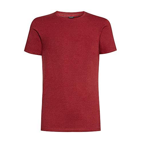 YAMAMAY® Bipack di t-Shirt Girocollo Tinta Unita - Fashion Color