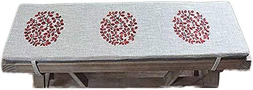 AMYZ Cuscino per Dondolo per Panca o Veranda in Memory Foam,Cuscino per Divano con Schienale Lungo Antiscivolo per Sedia,Cuscino per Seduta da Giardino e Ponte,Cuscino per Divano da Interno,cusci