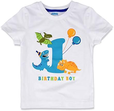 1st birthday t shirt boy _image4