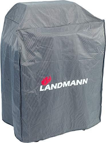 Landmann Premium Wetterschutzhaube | Aus robustem Polyestergewebe & Wasserdicht | UV-beständig, Atmungsaktiv & Kältebeständig | Geeignet für z.B. Pantera 3.0, Triton PTS 3.0, Pellet Kettle