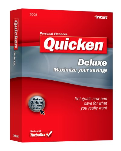 Price comparison product image Quicken 2008 Deluxe [OLD VERSION]